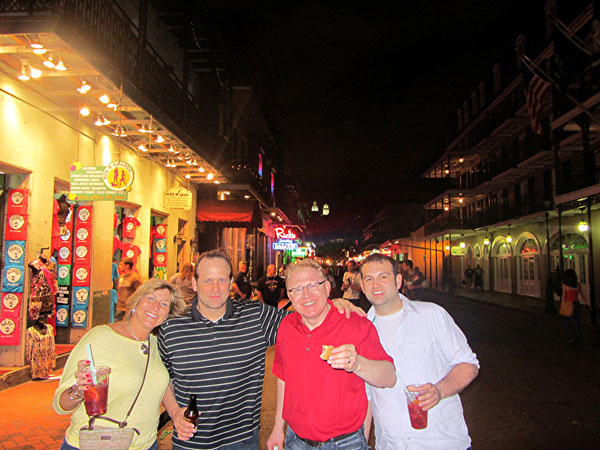 Todd swank intel solutions summit 2012 in new orleans for Bourbon street fish